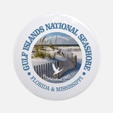 Gulf Islands National Seashore Round Ornament