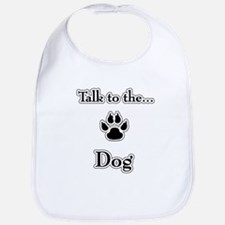 Dog Talk Bib