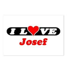 I Love Josef Postcards (Package of 8)
