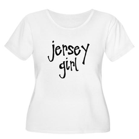 Jersey Girl Women's Plus Size Scoop Neck T-Shirt