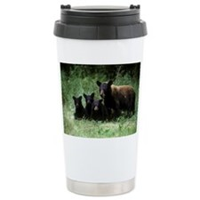black bear ursus americ Travel Mug