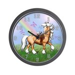 Saddle Squeaks Wall Clock