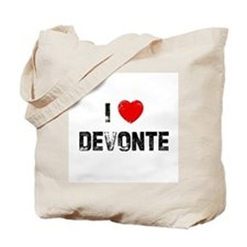 I * Devonte Tote Bag