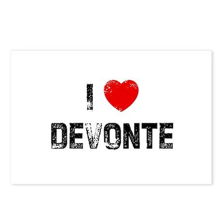 I * Devonte Postcards (Package of 8)