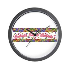 Cubicle Sweet Cubicle Wall Clock