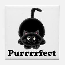 Purrrrfect Tile Coaster