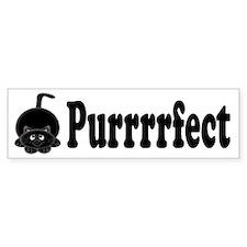 Purrrrfect Bumper Bumper Sticker