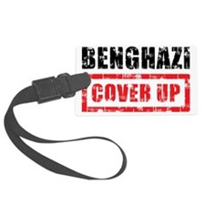 Benghazi Cover Up Luggage Tag