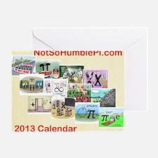 2013 Calendar - All New Mathtoons Greeting Card