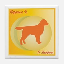 Staby Happiness Tile Coaster