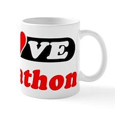 I Love Johnathon Small Mug