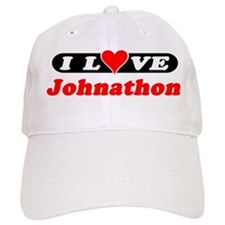 I Love Johnathon Baseball Cap