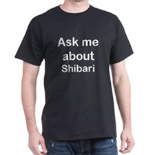 'ask me shibari' T-Shirt