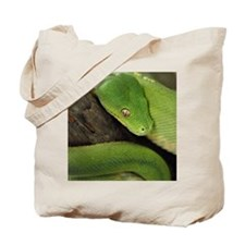 Green Tree Python, northern Australia, In Tote Bag