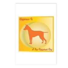 Ridgeback Happiness Postcards (Package of 8)