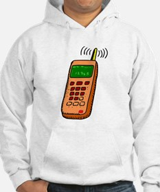 Cartoon Cell Phone Jumper Hoody