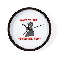 SOMETHING NEW? Wall Clock