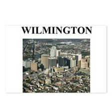 wilmington gifts and t-shirts Postcards (Package o