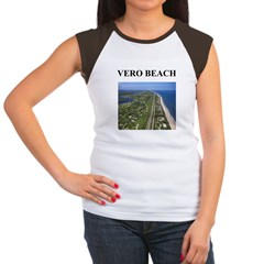vero beach gifts and t-shirts Women's Cap Sleeve T