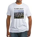 tampa bay gifts and t-shirts Fitted T-Shirt