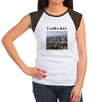 tampa bay gifts and t-shirts Women's Cap Sleeve T-