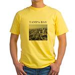 tampa bay gifts and t-shirts Yellow T-Shirt