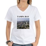 tampa bay gifts and t-shirts Women's V-Neck T-Shir