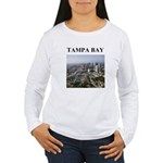 tampa bay gifts and t-shirts Women's Long Sleeve T