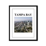 tampa bay gifts and t-shirts Framed Panel Print
