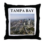 tampa bay gifts and t-shirts Throw Pillow