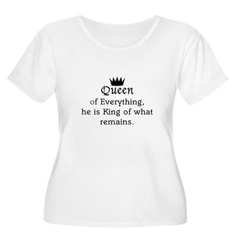 Queen Women's Plus Size Scoop Neck T-Shirt