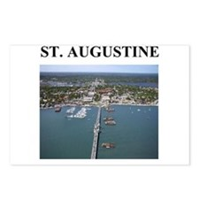 st. augustine gifts and t-shi Postcards (Package o