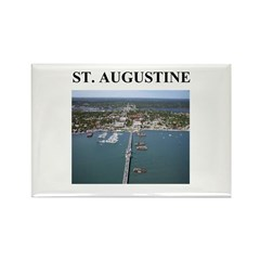 st. augustine gifts and t-shi Rectangle Magnet