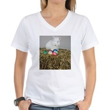 A rabbit and Easter eggs, s Shirt