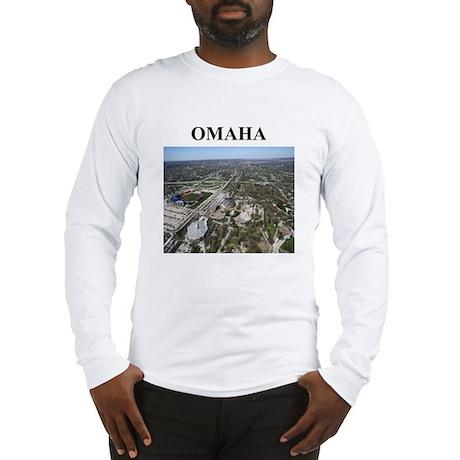 omaha gifts and t-shirts Long Sleeve T-Shirt