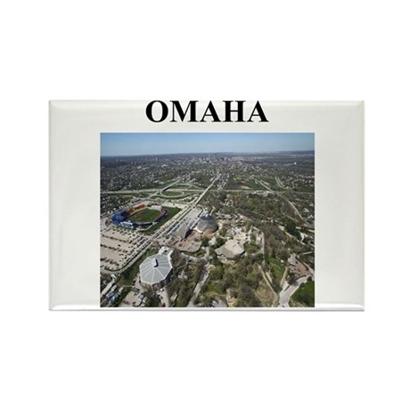 omaha gifts and t-shirts Rectangle Magnet (100 pac