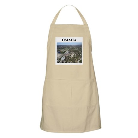 omaha gifts and t-shirts BBQ Apron