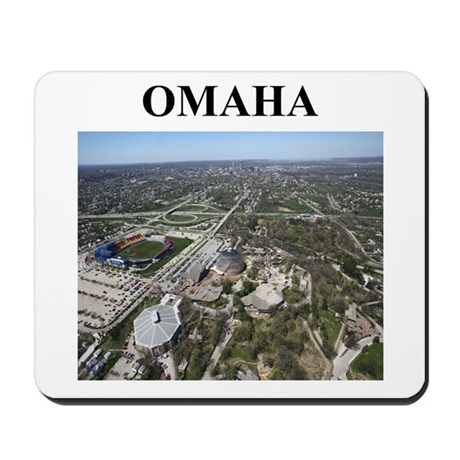 omaha gifts and t-shirts Mousepad