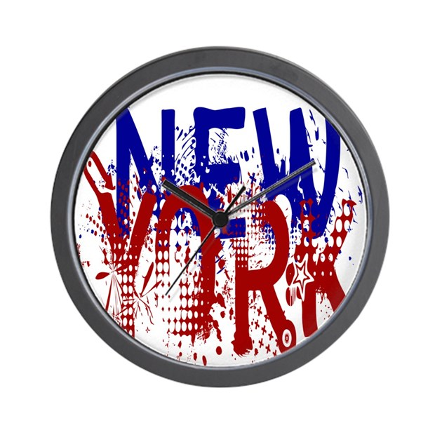 New York Style Wall Clock by AdminCP6107931