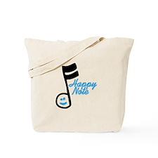 Happy Note Tote Bag