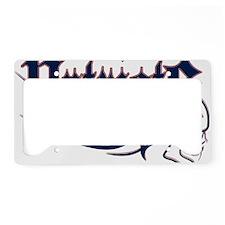 New England License Plate Holder