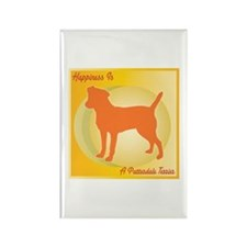 Patterdale Happiness Rectangle Magnet