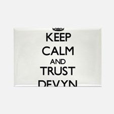 Keep Calm and TRUST Devyn Magnets