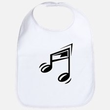 Eighth Note Bib
