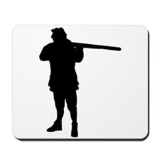 Hunter Silhouette Mousepad