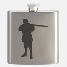 Hunter Silhouette Flask