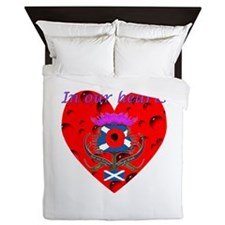 In our hearts military heros Queen Duvet