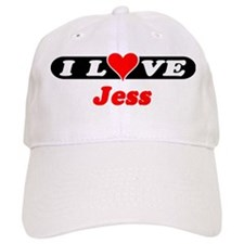 I Love Jess Baseball Cap