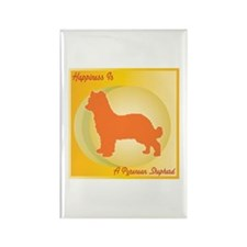 Pyrenean Happiness Rectangle Magnet