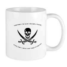 Teaching Pirate Small Mug